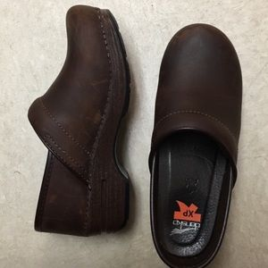 Brown Dansko XP Nursing Clogs